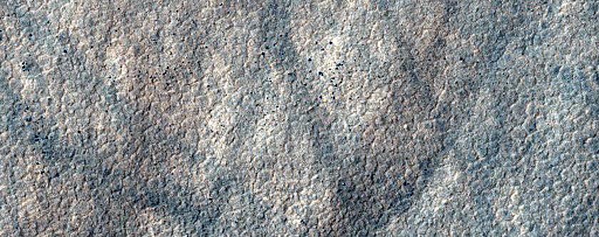 Landforms in Terra Cimmeria