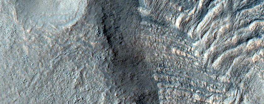 Reull Vallis Feeder Channel