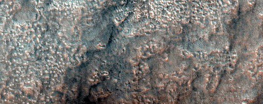 Cones within Acidalia Planitia