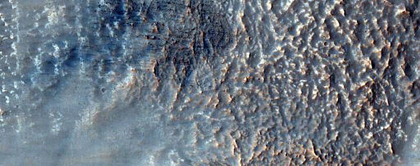 Concentric Crater Fill in Noachis Terra