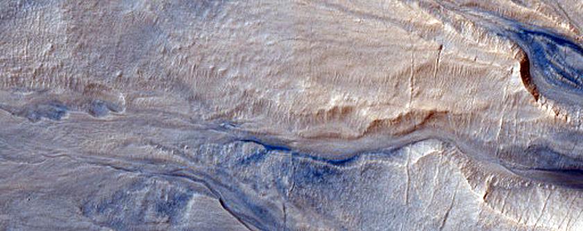 Monitor Slopes in Hellas Planitia