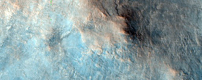 Exposed Scarp of Noachian Phyllosilicate along the Nili Fossae