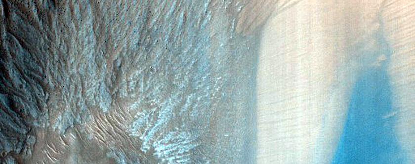 Monitor Slopes of Garni Crater