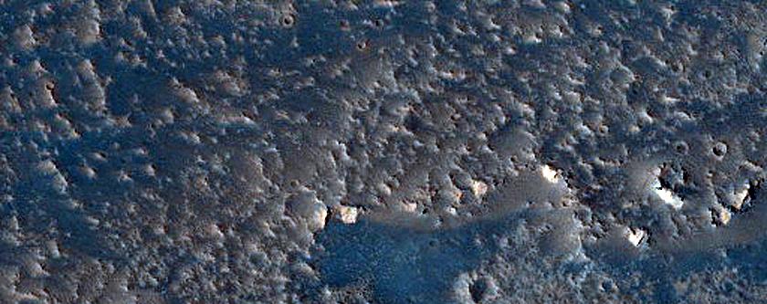 Small Lava Flow Units in Daedalia Planum