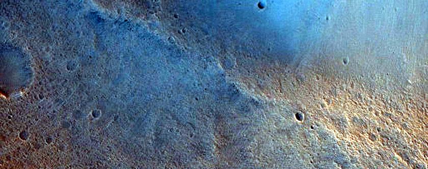 Irregularly Shaped Crater