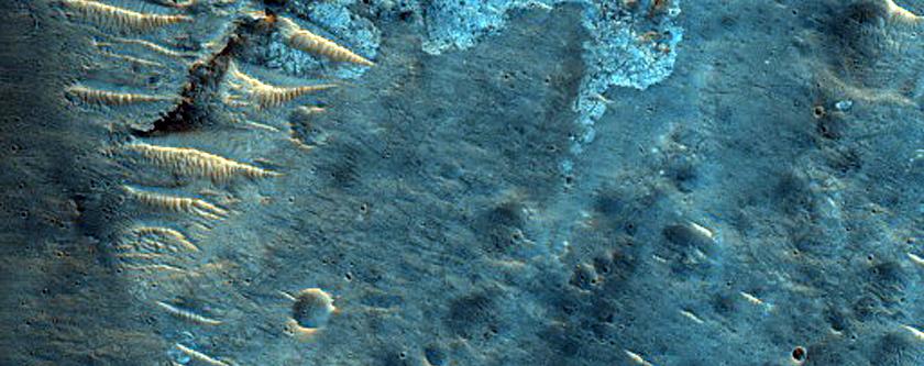 Terrain South of Mutch Crater