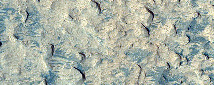 Layering in Arabia Terra
