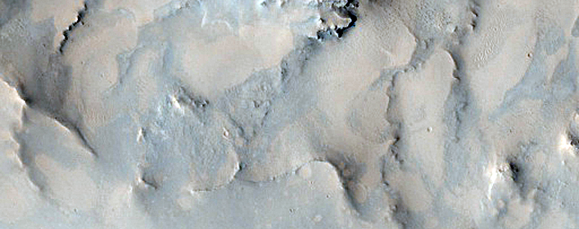 Phyllosilicate-Rich Knobs in Leighton Crater