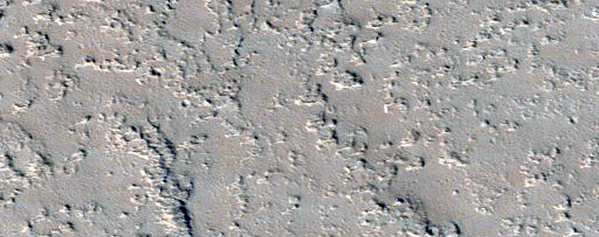 Candidate New Impact near Ceraunius Fossae