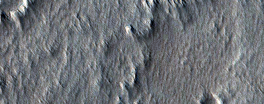 Channel on Arsia Mons Flank