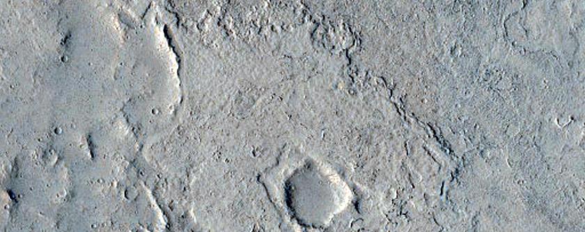 Candidate Recent Impact Site in Elysium Planitia