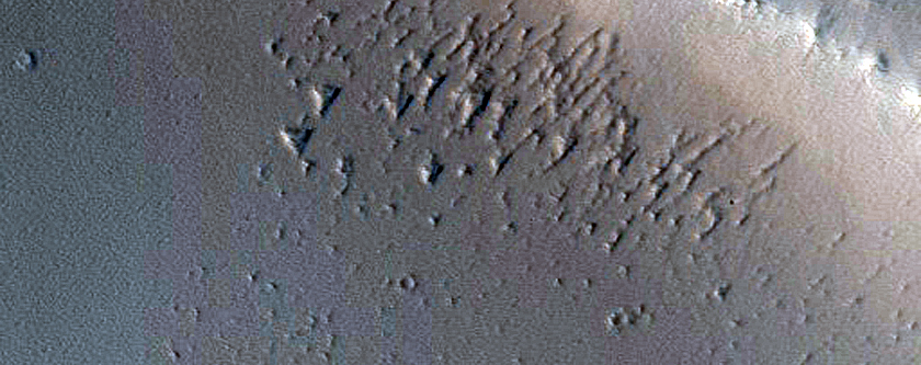 Candidate Recent Impact Site in Noctis Fossae