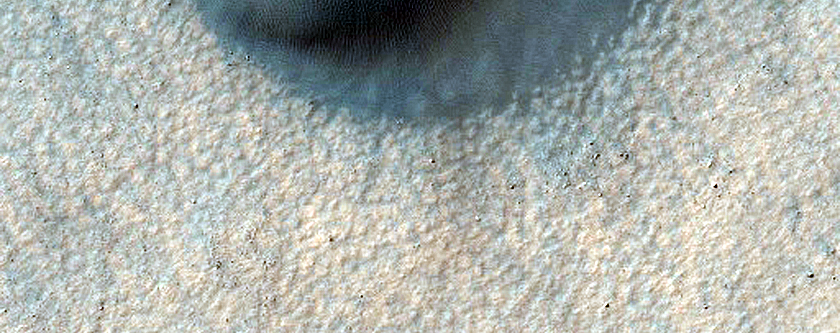 Intracrater and Intercrater Dune Fields