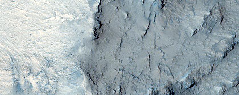 Walls of East Candor Chasma