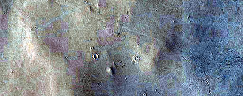 Candidate Recent Impact Site in Arabia Terra