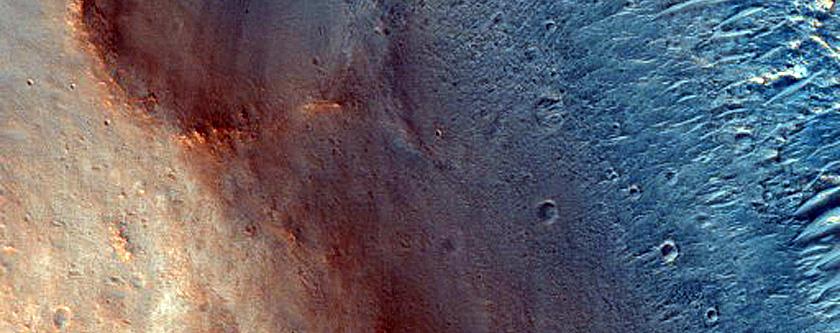 Stratified Mound near Oxia Planum