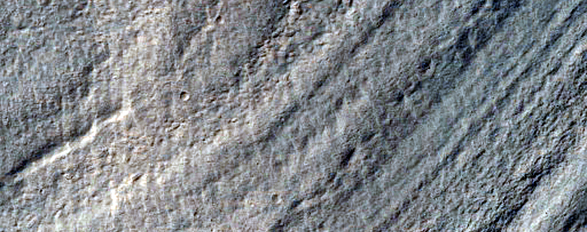 Gullies Mantling and Glaciers near Dao Vallis