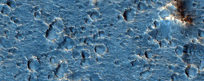 Candidate ExoMars Landing Site in Oxia Planum