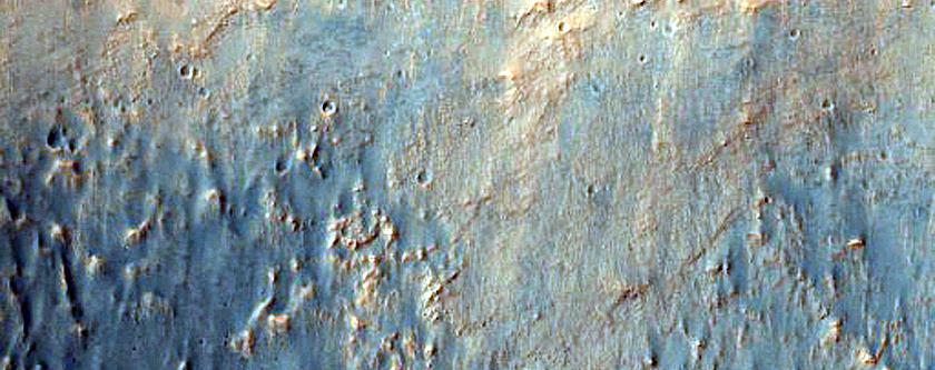 Tyrrhena Mons Massif