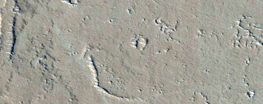 Candidate New Impact near Olympica Fossae