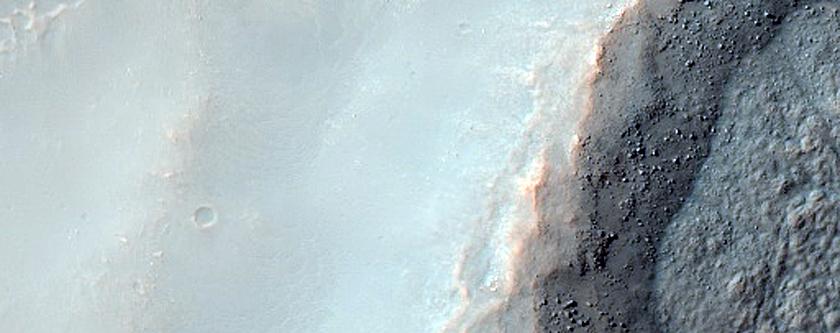 Terrain near Icaria Fossae