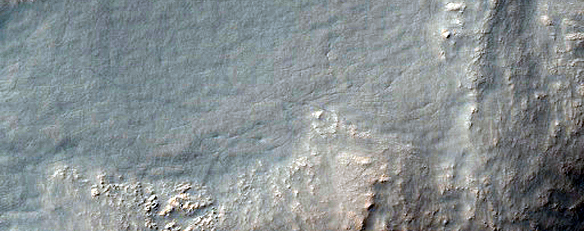 Well-Preserved Mid-Latitude 9-Kilometer Impact Crater