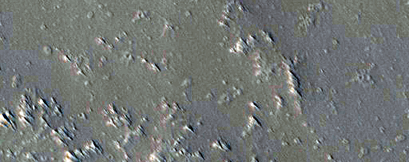Pit on Pavonis Mons