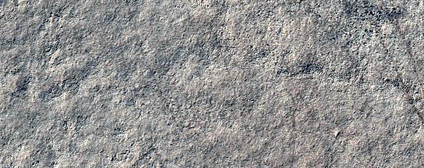 Mound and Ridge near Thyles Rupes