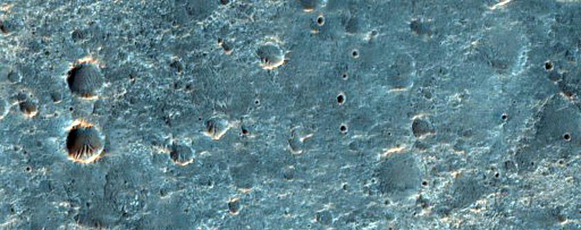 Terrain West of Kamativi Crater