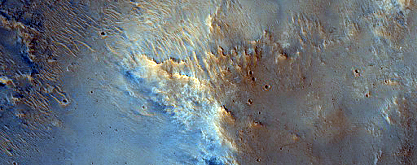 Terrain Southeast of Gale Crater
