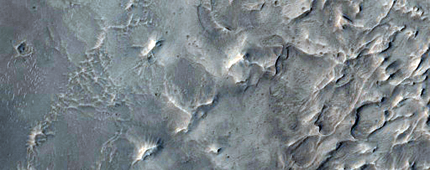 Complex Crater Fill and Erosion