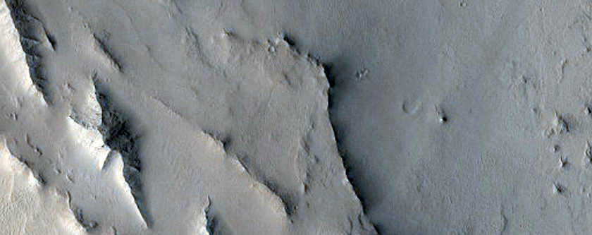 Inverted Channel in Cusus Valles