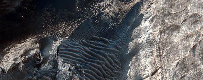 Slope Monitoring in Juventae Chasma