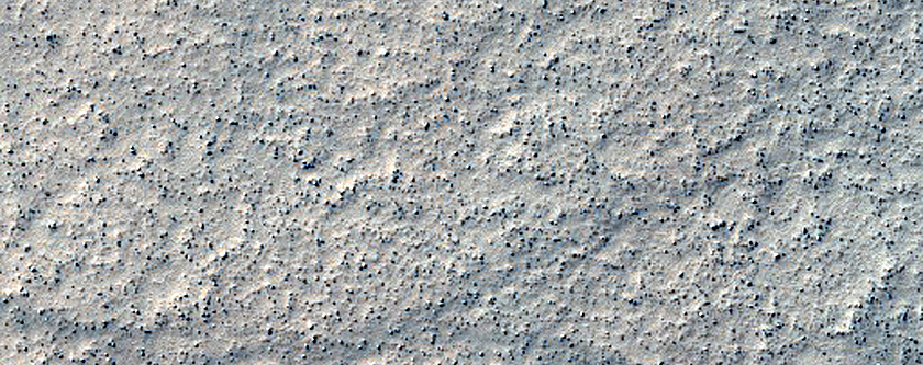 Crater Floor in Southern Aonia Terra