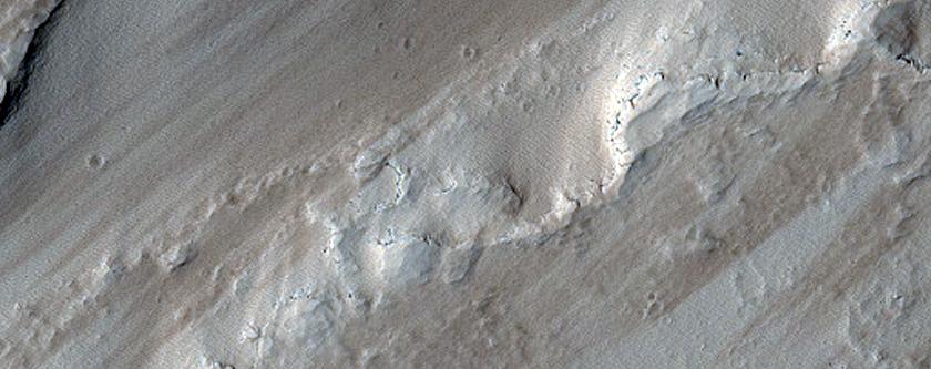 Fissure Vent North of Noctis Labyrinthus