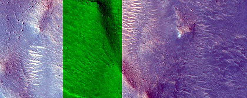 Chaotic Terrain in Western Arabia Terra