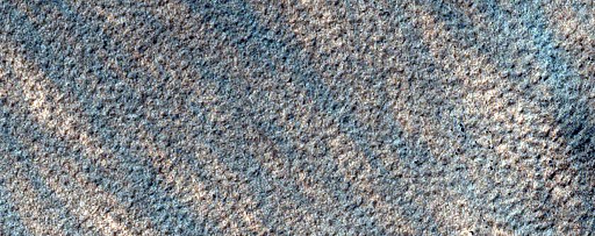 Pedestal Crater in Malea Planum