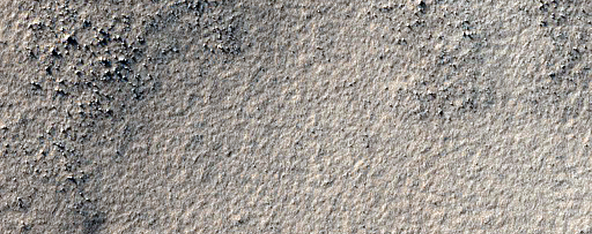 Small Dome Associated with Ancient Highlands Volcano near Sisyphi Planum