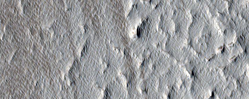 Terrain East of Ulysses Patera