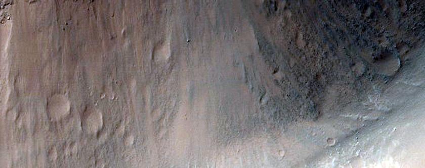 Eos Chasma Slumps