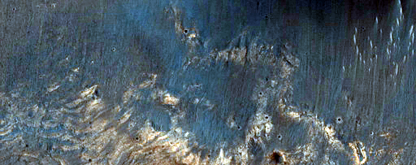 Crater Floor Outcrops