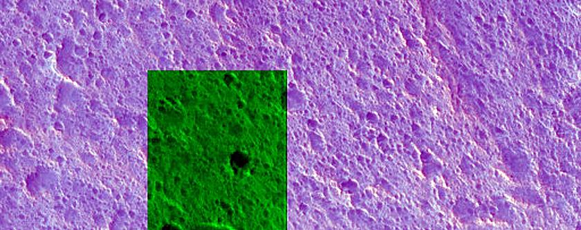 Knob in Acidalia Planitia