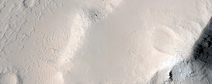 Surface Feature in Olympica Fossae