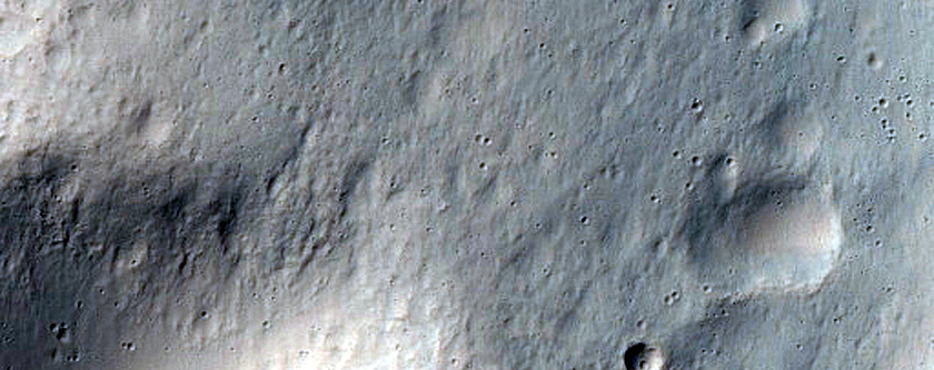 Well-Preserved 6-Kilometer Gullied Crater