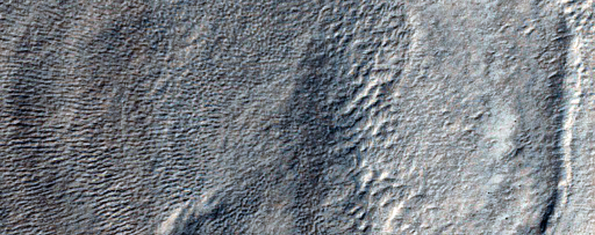 Layers in Hellas Planitia