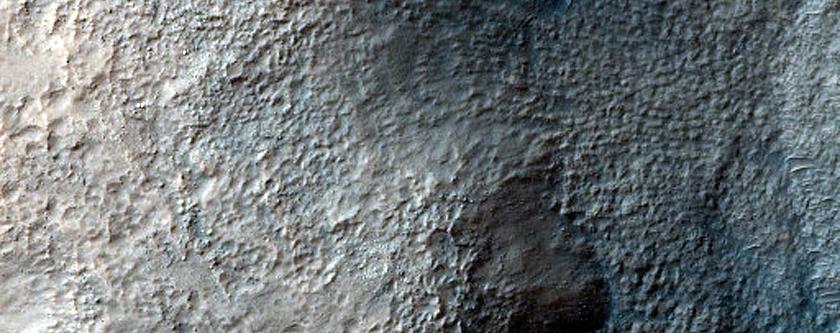 Terrain Sample in Hellas Planitia