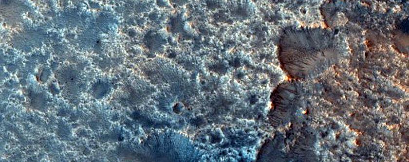 Dunes Northwest of Isidis Planitia