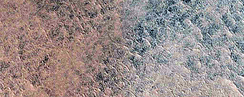 Lomonosov Crater South Rim