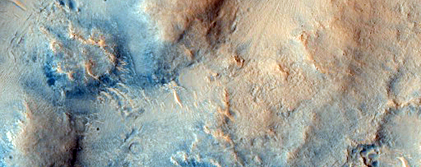 Dunes on Northwestern Floor of Isidis Planitia