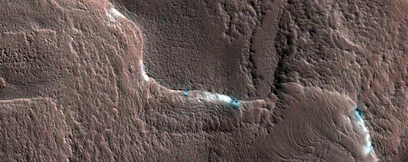 North Polar Layered Deposits Avalanche Monitoring Site